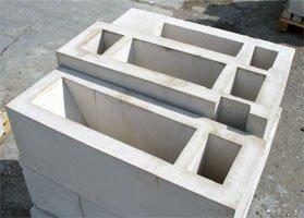Железобетонные вентиляционные блоки