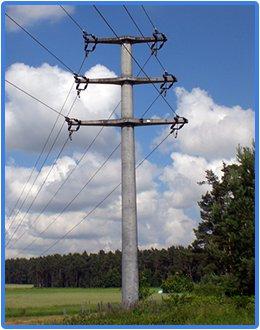 Столб электрический бетонный цена